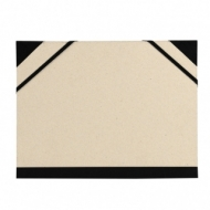 Папка Canson Carton a Dessin Brut Customisable Canson 2 эластичные резинки 52*72см бежевый картон