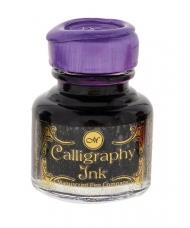 Чернила для каллиграфии Manuscript Gift банка стекло 30мл пурпурный