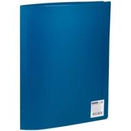 Папка с 20 вкладышами OfficeSpace, 16мм, 400мкм, синяя