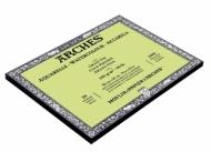 Блок для акварели Arches 185г/кв.м (хлопок) 23*31см 20листов Фин склейка по 4 сторонам