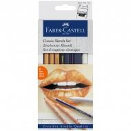 """Художественный набор для графики Faber-Castell """"Classic Sketch"""", 6 предметов"""