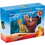 """Кубики Step Puzzle """"Disney. Король Лев"""", 12 шт."""