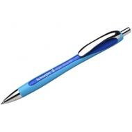 """Ручка шариковая автоматическая Schneider """"Slider Rave"""" синяя, 1,4мм"""