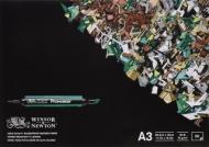 Альбом для маркеров Winsor&Newton 75г/кв.м A3 50листов