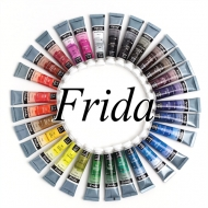 Акварельные краски Малевичъ Frida, туба 12 мл, поштучно
