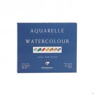 Альбом-склейка для акварели CLAIREFONTAINE Fontаine, сатин, 300 г/м2, 24*30 см, 25 листов