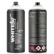 Аэрозольная краска Montana BLACK WHITEOUT белая (матовая) 400 мл