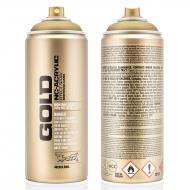 Аэрозольная краска Montana GOLD metallic 400 мл (матовая)