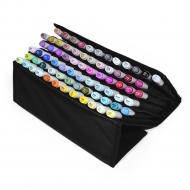 Набор маркеров для скетчинга Artisticks Style CASE в Travel-пенале, 72 цвета + книжка в подарок