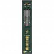 "Грифели для цанговых карандашей Faber-Castell ""TK 9071"", 10шт., 2,0мм, 3B"