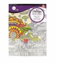 Книга Daler Rowney Simple, Арт Терапия большая Мировая культура, 25 листов