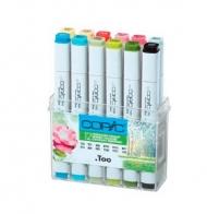 Набор маркеров для рисования Copic Original (Classic) Весна, двусторонние, 12 цветов