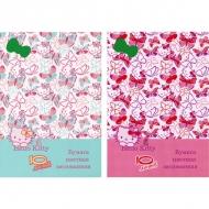 Набор цветной бумаги Action! Hello Kitty, 10 листов, А4