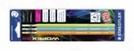 Набор графитовых карандашей WOPEX 180, HB/3 шт/в блистере