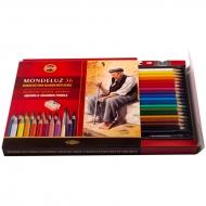 Акварельные карандаши Mondeluz KOH-I-NOOR  для художественного творчества, 36 цветов, картонная упаковка