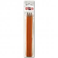 Набор чернографитных карандашей KOH-I-NOOR для рисования и письма, 3 шт. тв. HB, H, B