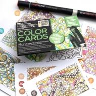 Раскраска-склейка Chameleon Floral Patterns - цветочные узоры