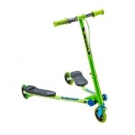 Самокат инерционный Fliker Air A1 зелено-синий YVolution