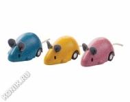 Мышка двигающаяся Plan Toys