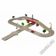 Деревянная дорога Делюкс Plan Toys