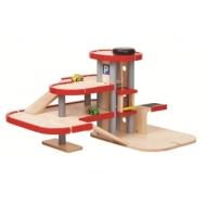 Парковка трёхэтажная Plan Toys