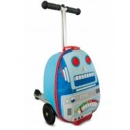 Самокат-чемодан Робот, мини ZINC