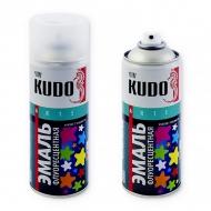 Флуоресцентная эмаль Kudo со светоотражающим эффектом, аэрозоль, 520 мл