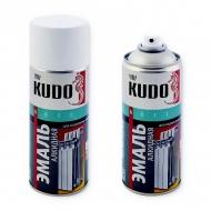 Эмаль для радиаторов отопления Kudo, аэрозоль, 520 мл, белая