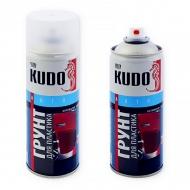 Акриловый грунт Kudo для пластика Активатор адгезии, аэрозоль, 520 мл, прозрачный