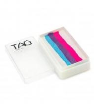 Профессиональный гипоаллергенный аквагрим Сплит-кейк TAG «Мороженое», 30г, 4 цвета