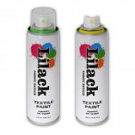 Аэрозольная краска для ткани LILACK Fabric Design, 220 мл, несмываемая, в ассортименте