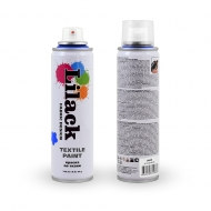 Аэрозольная краска для ткани LILACK Fabric Design, 220 мл, несмываемая