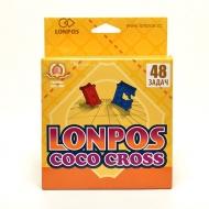 Настольная игра - головоломка Лонпос (Lonpos) «Coco Cross» 48 задач