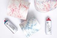 Аэрозольная краска MONTANA с эффектом мрамора