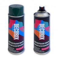 Аэрозольная краска для металлочерепицы DECORIX 520 мл (RAL)