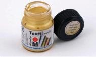 Краска для ткани Marabu Textile Metallic, 15 мл, цвета металлик