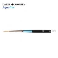 Кисть Daler Rowney Aquafine синтетика, линер, короткая ручка