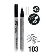 Набор пустых маркеров Daler Rowney FW ARTISTS 2XSM Rd+Nibs