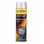 Аэрозольная эмаль для автомобильных дисков MOTIP Wheel Spray, 500 мл