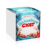 Набор для экспериментов «Волшебный снег» подарочный набор