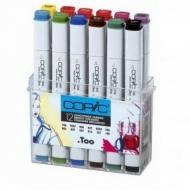 Набор маркеров Copic Bright Colors Original (Classic) Яркие цвета 12 цв.