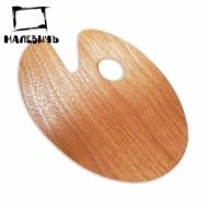 Овальная деревянная палитра 20х30 см, Малевичъ
