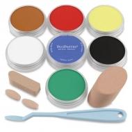 Набор ультрамягкой пастели для рисования PanPastel, 7 основных цветов и аксессуары
