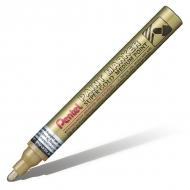 Маркер перманентный Pentel Paint в алюминиевом корпусе. Круглый наконечник 4,5 мм