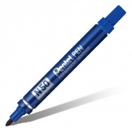 Маркер перманентный Pentel Pen для любых поверхностей, 4.3 мм, разные цвета