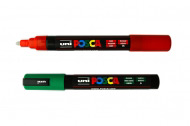 Маркер-фломастер перманентный для детского творчества Uni Posca 1,8-2,5мм, PC-5M