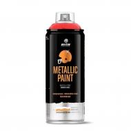 Аэрозольная краска с глянцевым эффектом металлик MTN PRO Metallic Paint для внутренних и наружных работ, 400 мл