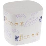Бумага туалетная листовая Tork Premium(ZZ-сл)(Т3) 2-слойная, 252лист/пач, мягкая, тиснение, белая