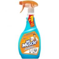 Средство для мытья стекол и др. поверхн. Mr.Muscle После дождя с изопроп.спиртом, 500мл, с курком