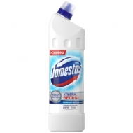 Средство для туалета Domestos Ультра белый, гель, 1л